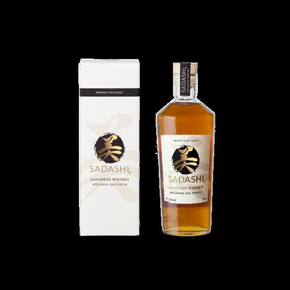 Sadashi Mizunara Oak Whisky Díszdobozban 0,7l 43%