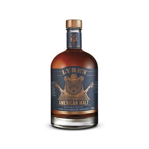 Lyres American Malt 0,7l alkoholmentes whisky