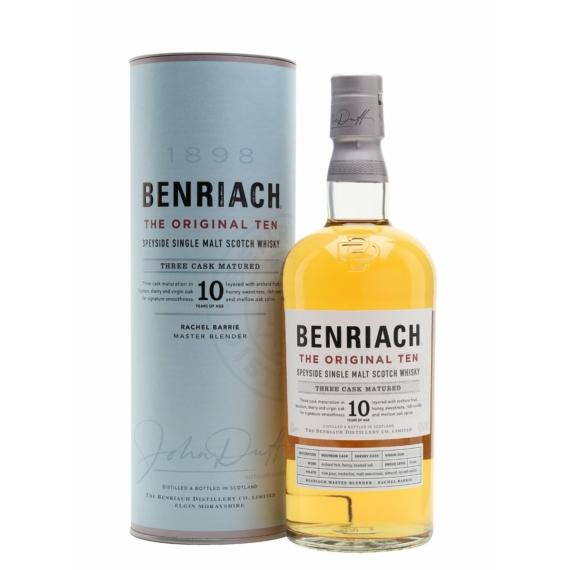 Benriach 10 Éves Skót Whisky 0,7l 43%