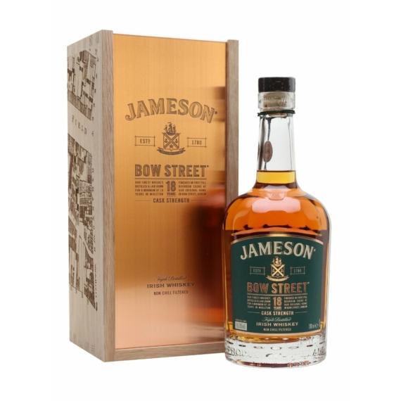 Jameson 18 éves Bow Street Edition 0,7l DD 40% prémium DD