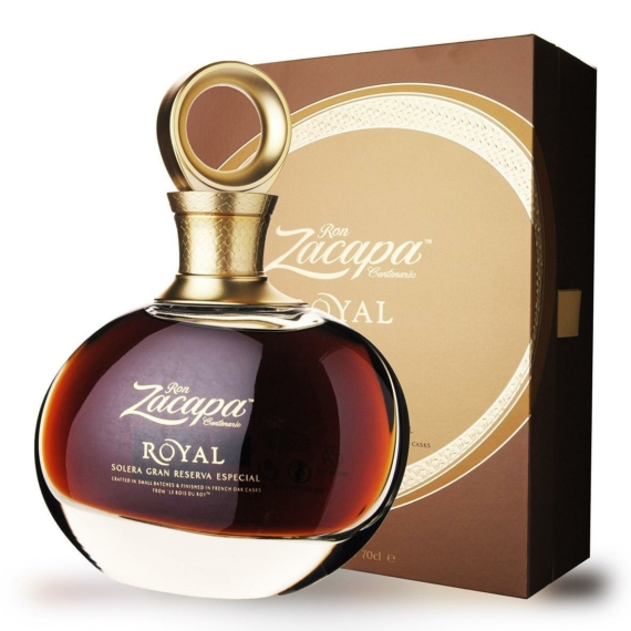 Ron Zacapa Royal Gran Reserva Rum Díszdobozban 0,7l 45%