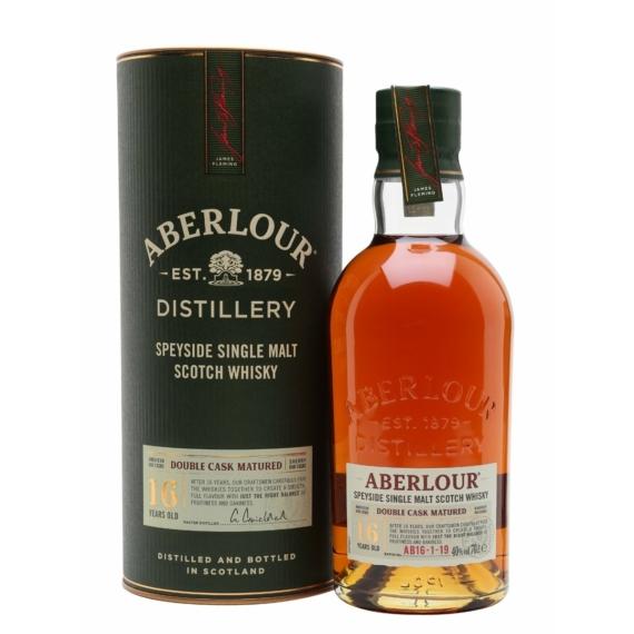 Aberlour 16 éves Double Cask Matured Whisky Díszdobozban 0,7l 43%