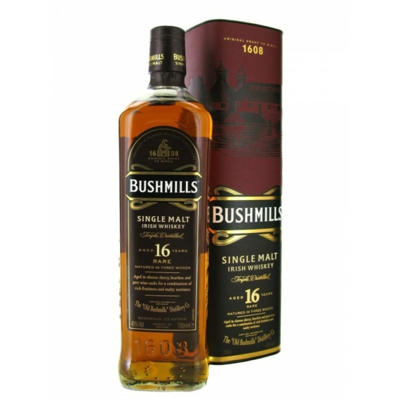 Bushmills 16 éves Skót Whisky 40% 0,7L