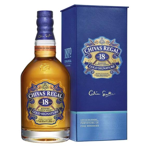 Chivas Regal 18 Éves Skót Whisky  0,7l 40%