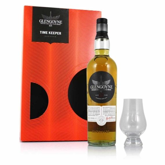 Glengoyne 12 éves 0,7l Time Keeper 43% + pohár DD Scotch whisky