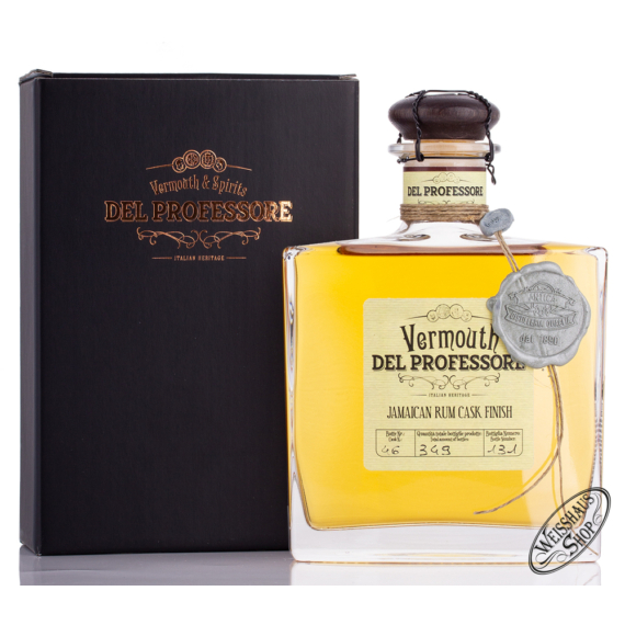Del Professore  Vermouth Jamaican Rum Finish 0,5l 20,5%