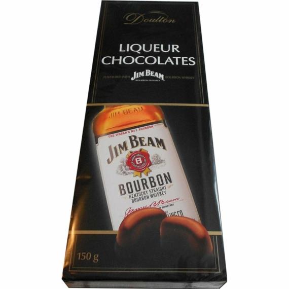 Piasten Doulton Bourbon whiskey bonbon 150g whiskey-vel töltött praliné B