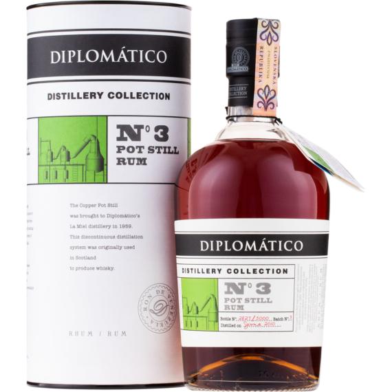 Diplomatico TDC N3 Single Pot Still Rum Díszdobozban 0,7l 47%