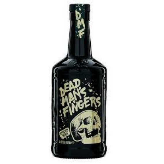 Dead Man's Fingers Spiced Rum 0,7l 37,5%