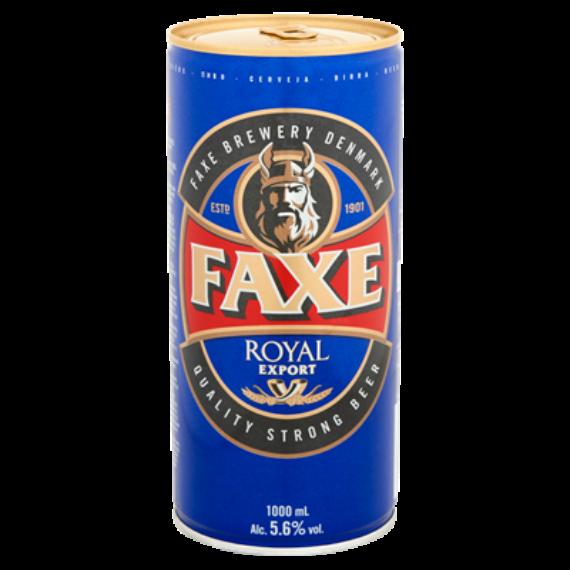 Faxe Royal dán sör 1,0l dob. 5,6%
