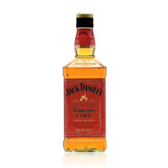 Jack Daniels Fire 0,7l 35% Csípős-fahéjas whiskey alapú likőr