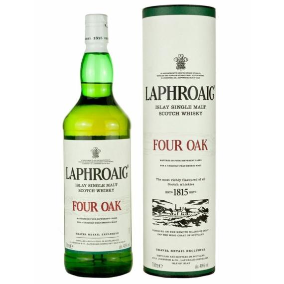 Laphroaig Four Oak Skót Whisky 1,0l 40%