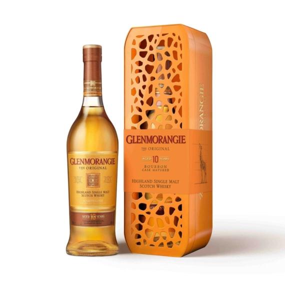 Glenmorangie 10 éves Original Giraffe Kiadás Highland Single Malt Skót Whisky 0,7l 40%