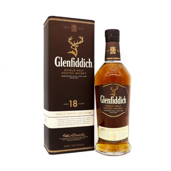 Glenfiddich 18 Éves Skót Whisky 0,7L 40%