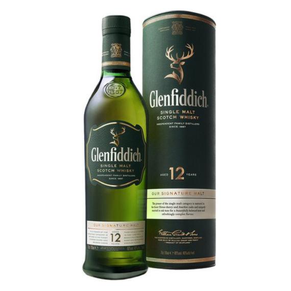Glenfiddich 12 éves 0,7l 40% PDD