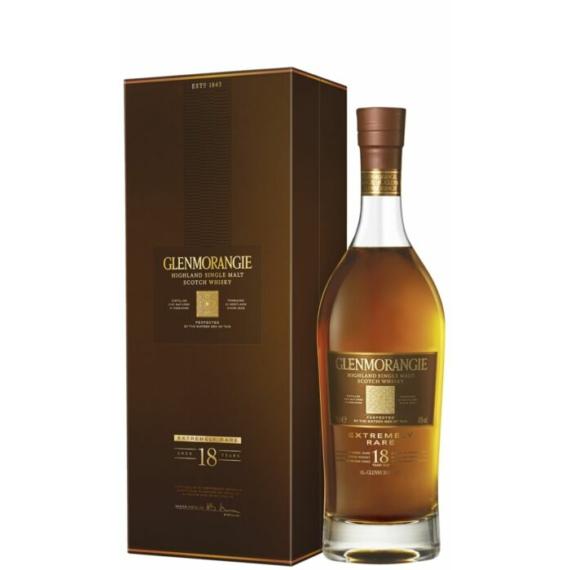 Glenmorangie 18 Éves Különlegesen Ritka Skót Whisky 0,7L 43%