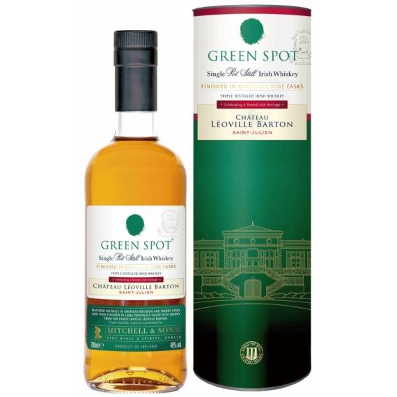 Green Spot Château Léoville Barton Whiskey Díszdobozban 0,7l 46%