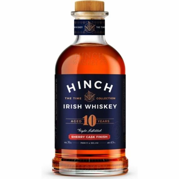 Hinch 10 Éves Sherry Cask Finish Whiskey 0,7l 43%