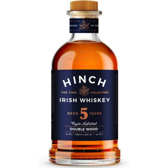 Hinch 5 Éves Double Wood Whiskey 0,7l 43%