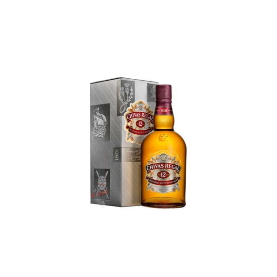 Chivas Regal 12 Éves Skót Whisky  0,5L 40%