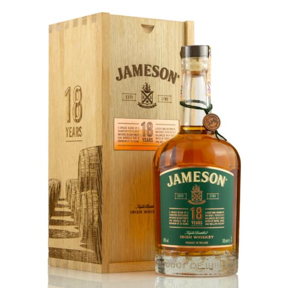Jameson 18 Éves Whiskey 0,7L 40%