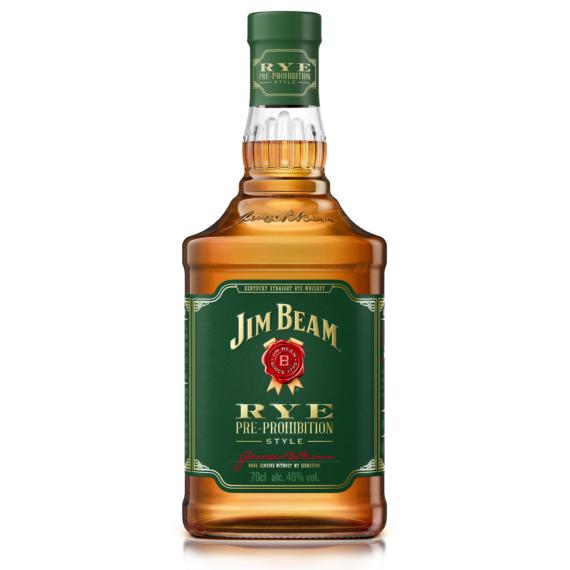 Jim Beam Rye 0,7L (51% rozsból készül)