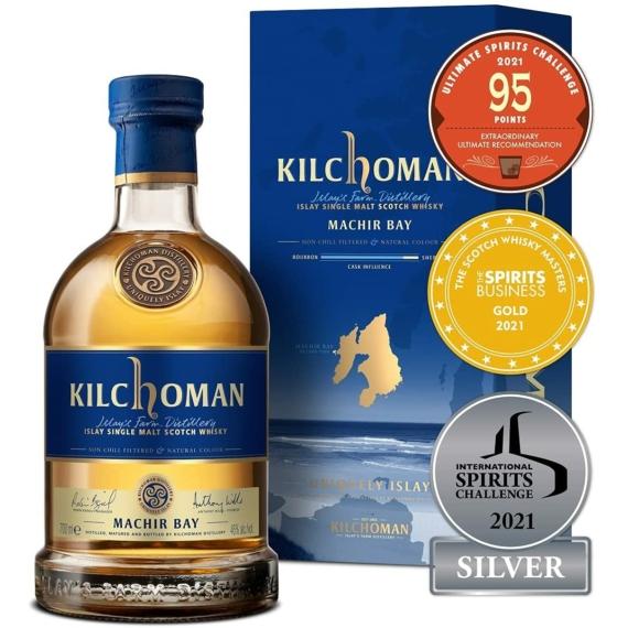 Kilchoman Machir Bay Single Malt Skót Whisky