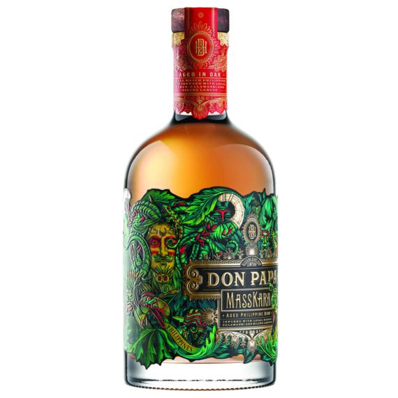 Don Papa Masskara Limitált Kiadású Rum 0,7L 40%
