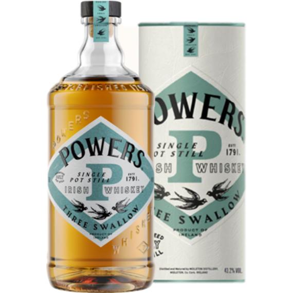 Powers Three Swallow Irish Whiskey  0,7l 40%