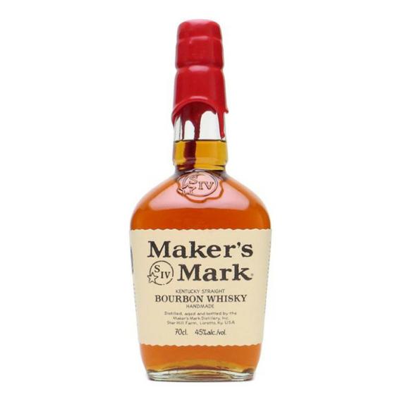 Maker's Mark Kentucky Straight Bourbon Whisky 0,7L 45%