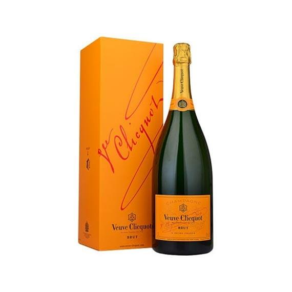 VEUVE CLICQUOT Brut Champagne Díszdobozban 0,75l