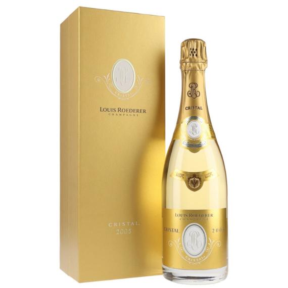 Louis Roederer Cristal 2005 1,5l 12% pezsgő Fa díszdoboz