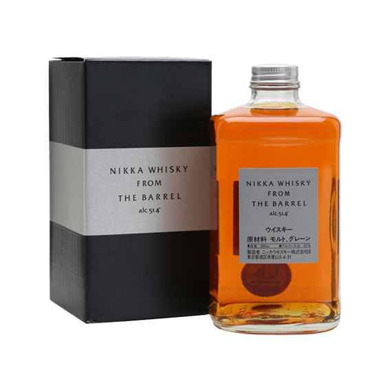 Nikka Whisky From The Barrel 0,5l 51,4%