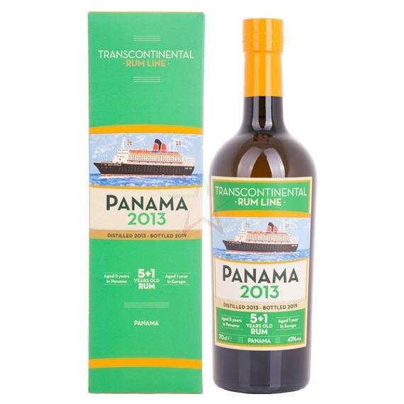 Panama 2013 Transcontinental Rum Line 0,7l 43%