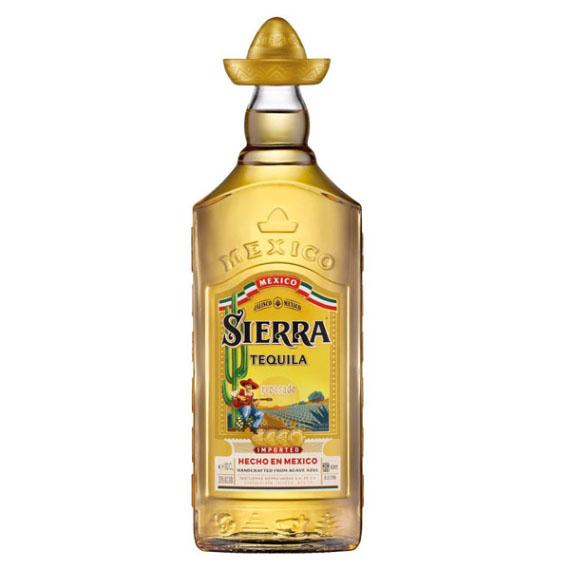 Tequila Sierra Gold 1,0l Reposado 38%