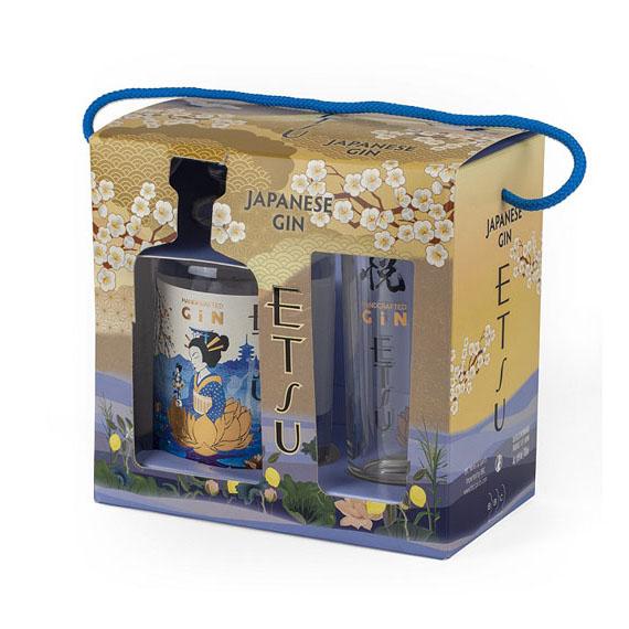 Etsu japán gin 0,7l 43% + pohár DD