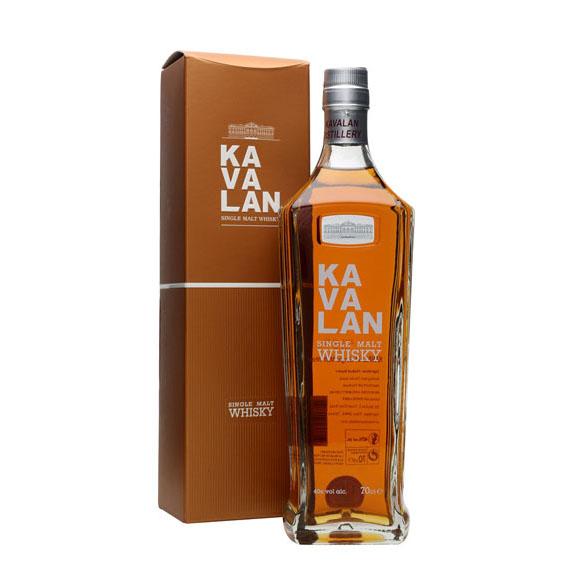 Kavalan Single Malt Whisky Díszdobozban 0,7l 40%