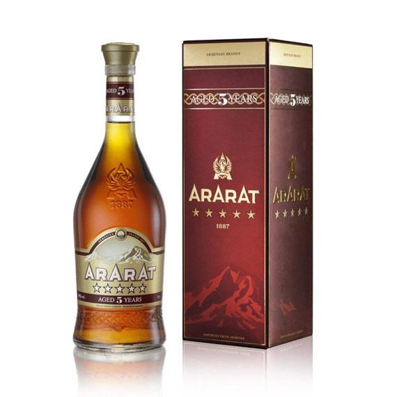 Ararat 5* 5éves brandy 0,7l 40% PDD
