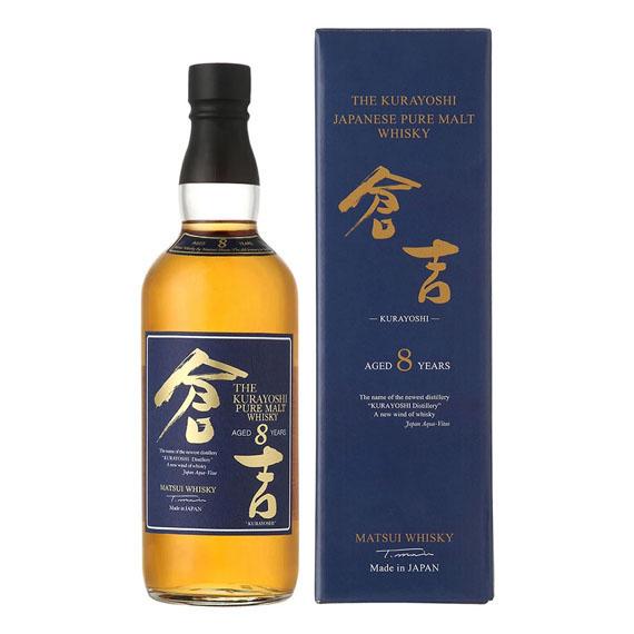 The Kurayoshi Pure Malt 8 éves whisky díszdobozban 0,7l 43%