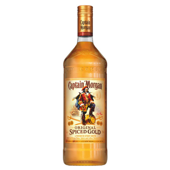 Captain Morgan Spiced Gold 35% 1,0l