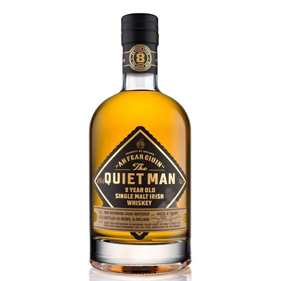 The Quiet Man 8 Éves Single Malt Whiskey 0,7l 40%