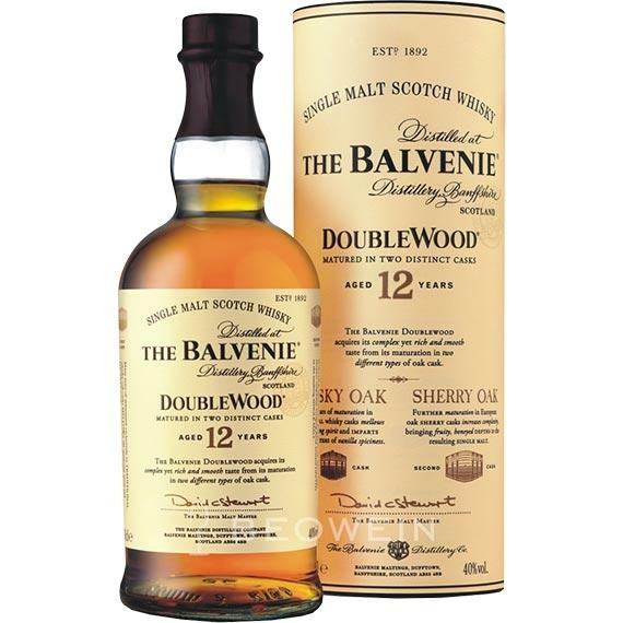 Balvenie 12 éves Double Wood 0,7l 40% henger DD