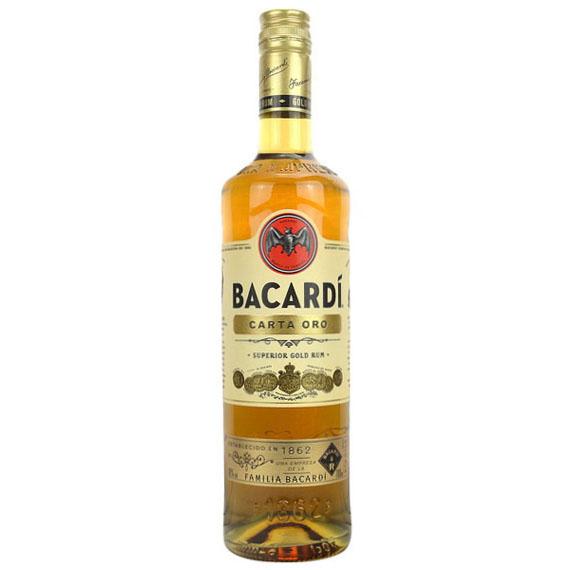 Bacardi Gold rum 1,0l