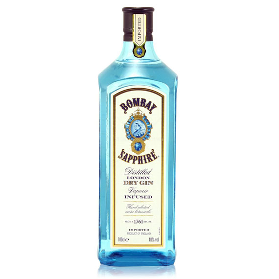 Bombay Sapphire Gin 1,0l 40%