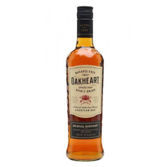 Bacardi Oakheart rum 1l 35%