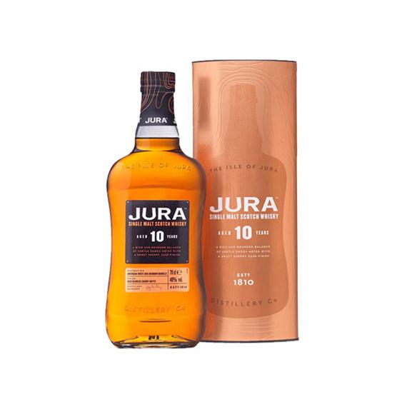 Jura 10 éves maltwhisky 0,7l 40% fémDD