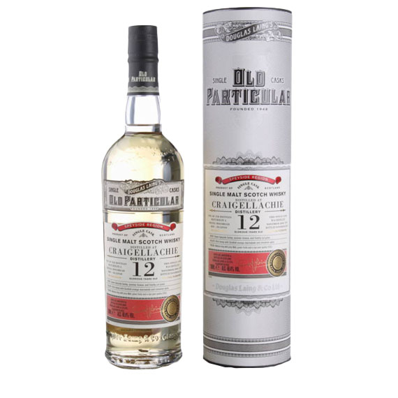 Craigellachie 12 éves Old Particular 0,7l 48,4% whisky