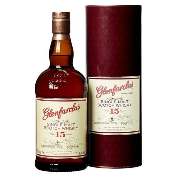 Glenfarclas 15 Éves Skót Whisky 0,7L 46%
