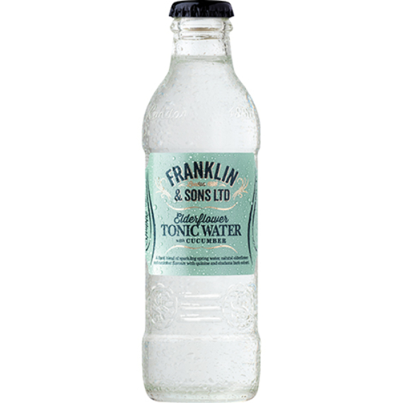 Franklin & Sons tonic Elderflower with cucumber 0,2l