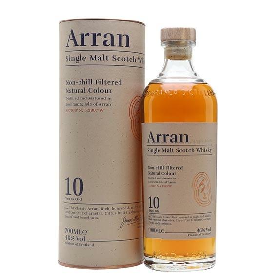 Arran 10 Éves Single Malt Skót Whisky 0,7l 46%